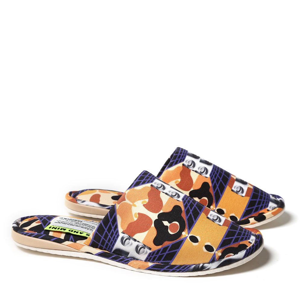 PAM x FABRICK CLASSICAL DIMENSIONS CAMO SLIPPERS