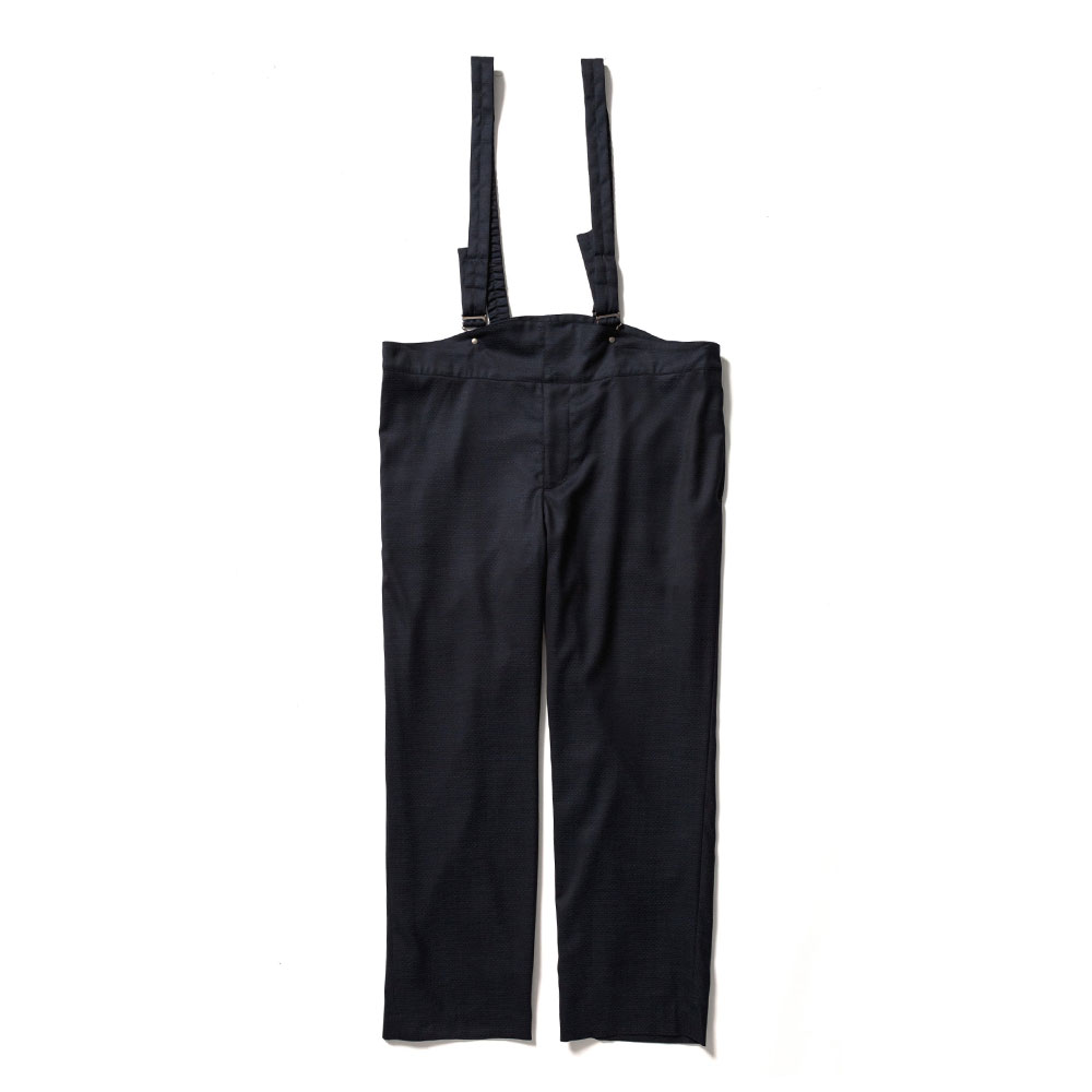 SUSPENDER SLACKS BLACK NAVY