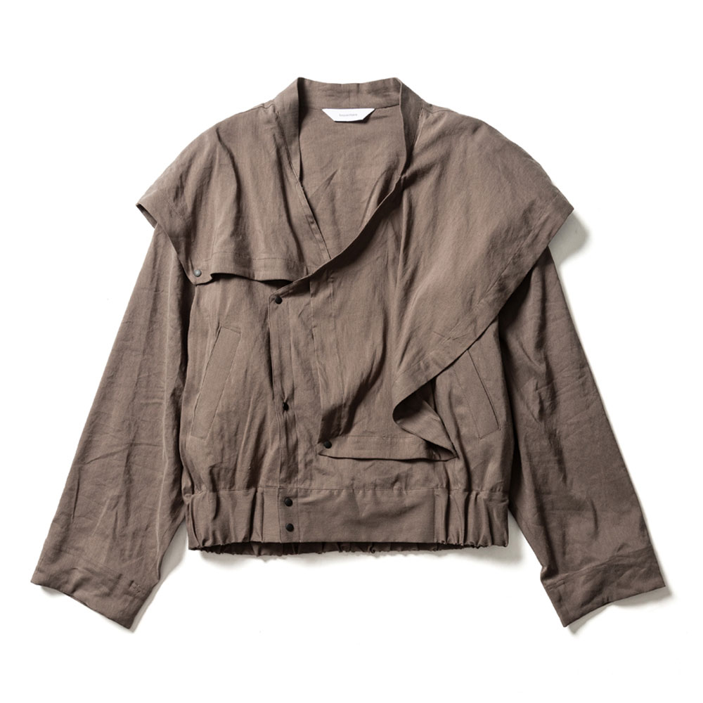 ORIENTAL SHOULDER SPORTS JACKET GRAY