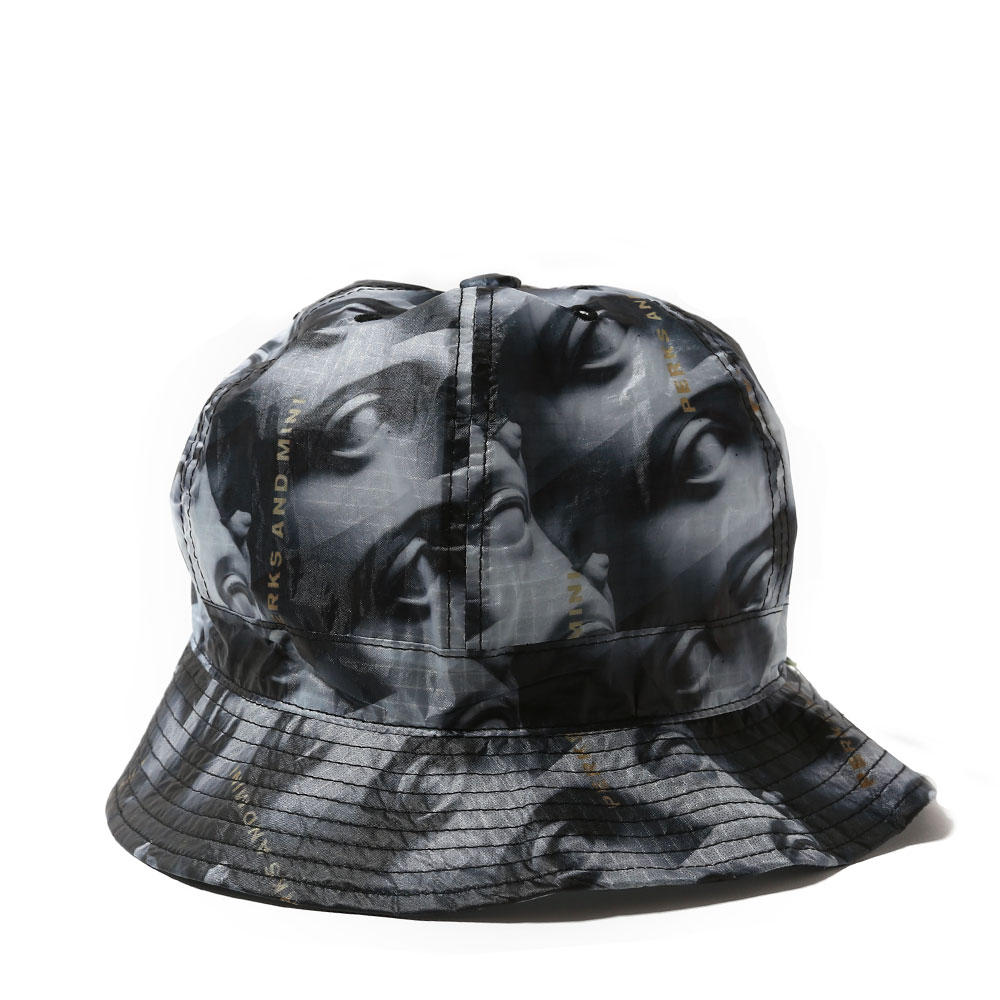 PAM x FABRICK CLASSICAL VIEW BUCKET HAT BLACK/WHITE