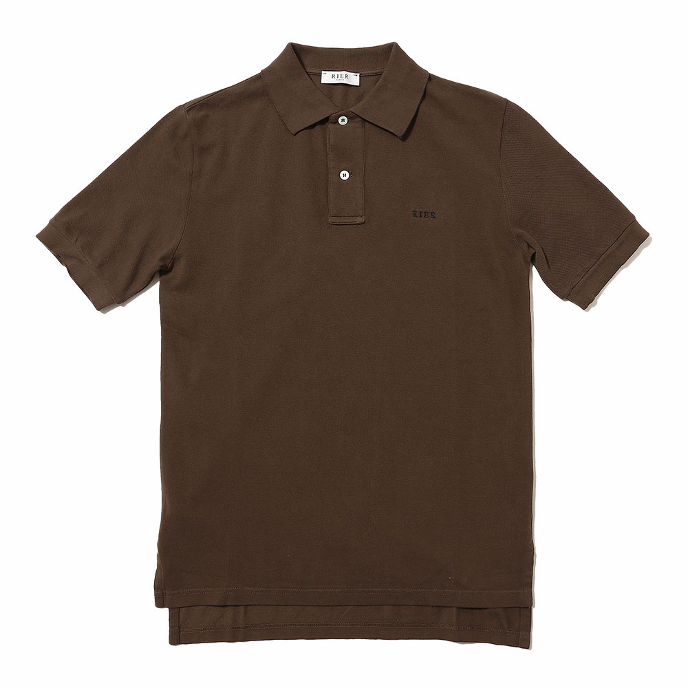 POLO SHORT SLEEVE EBANO