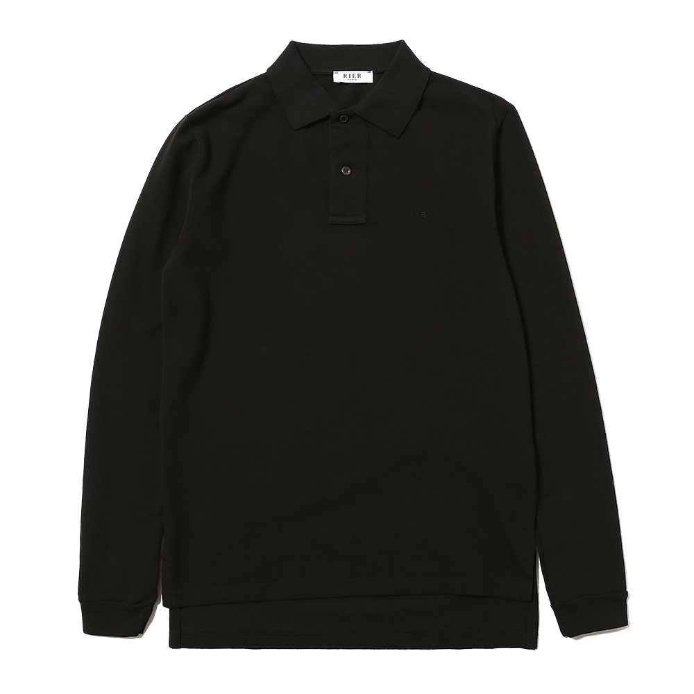 POLO LONG SLEEVE NERO