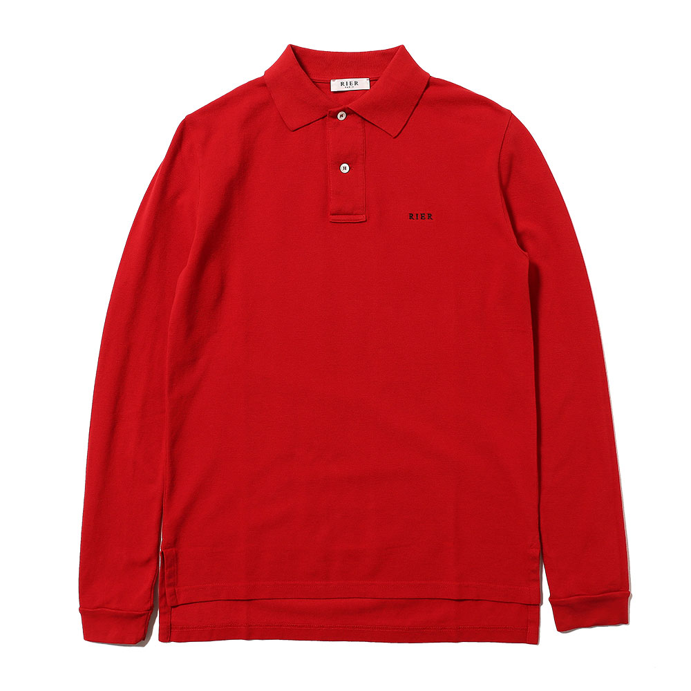 POLO LONG SLEEVE ROSSO