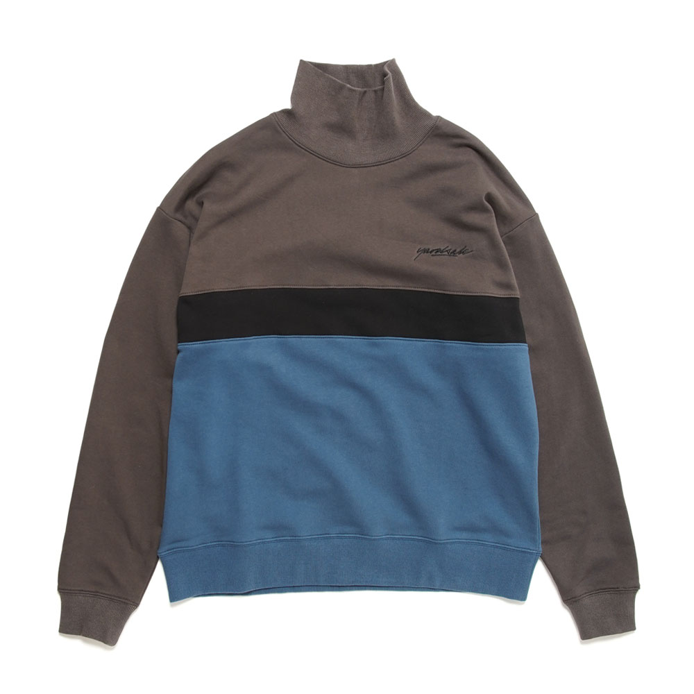 MENACE ROLLNECK BLACK/INDIGO