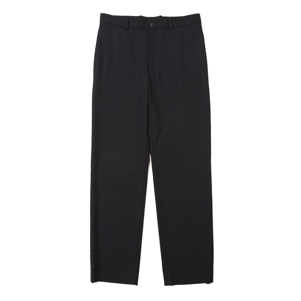 HARD TWIST WOOL DOBBY SLACKS DARK NAVY