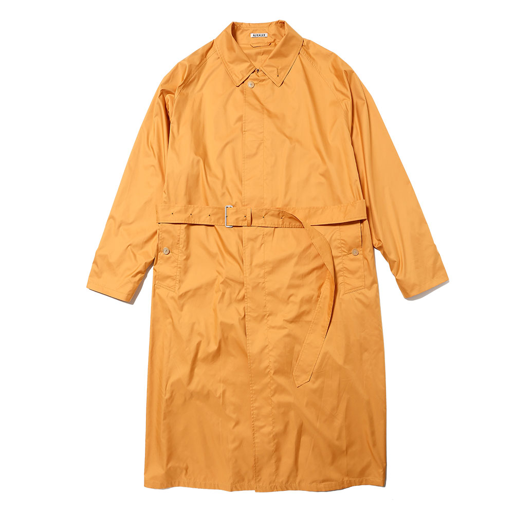 SUPER LIGHT POLYESTER SOUTIEN COLLAR COAT ORANGE