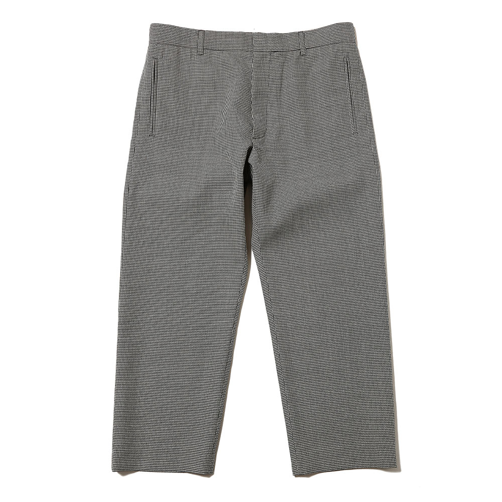 CLASSICAL TROUSERS DOGTOOTH PRINT&GREY CHECK