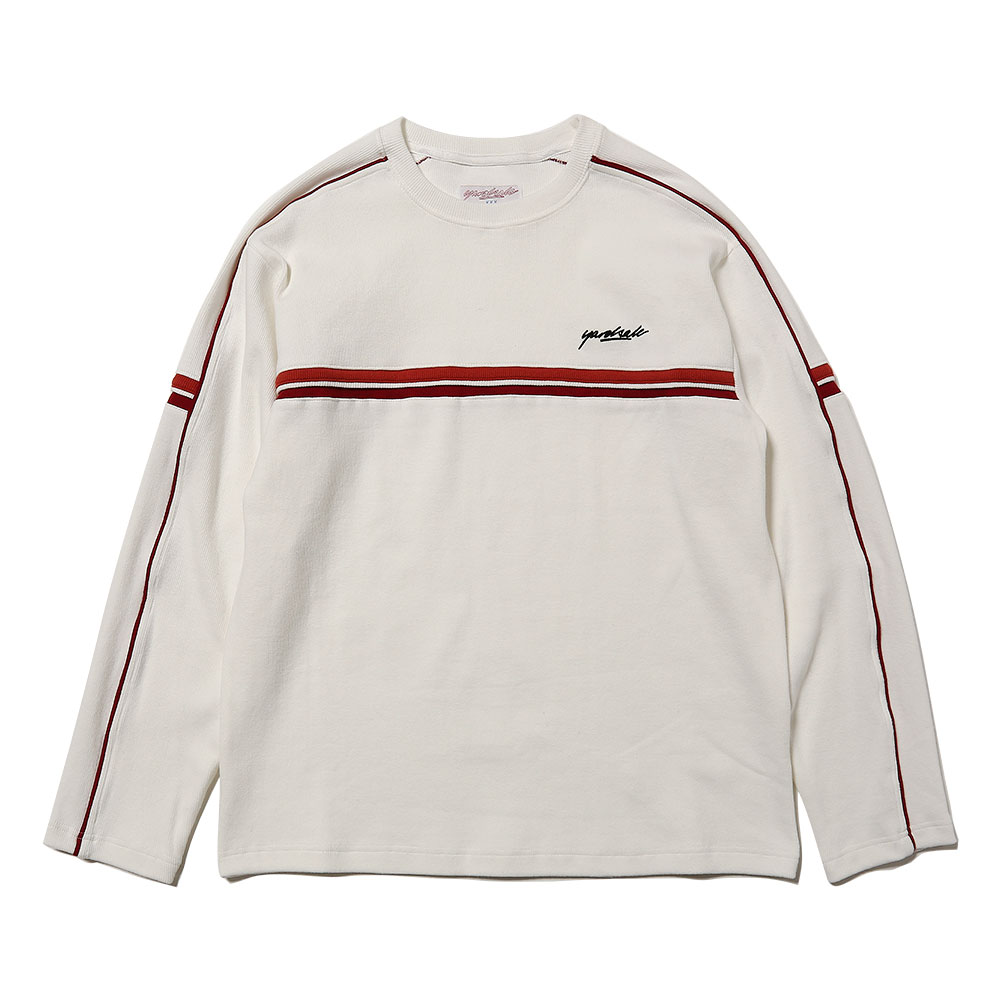 PACIFFIC RIBBED CREWNECK OFF WHITE