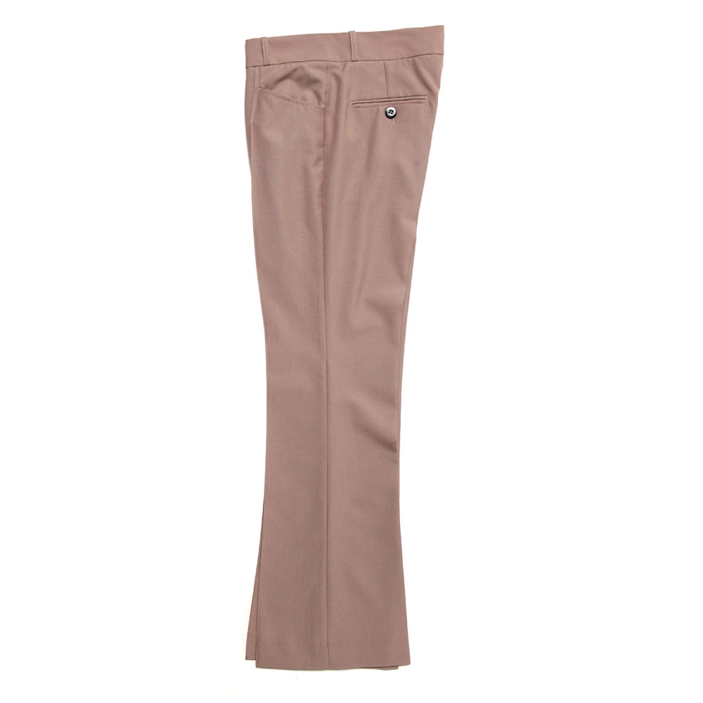FLARE TROUSERS DUSTY PINK