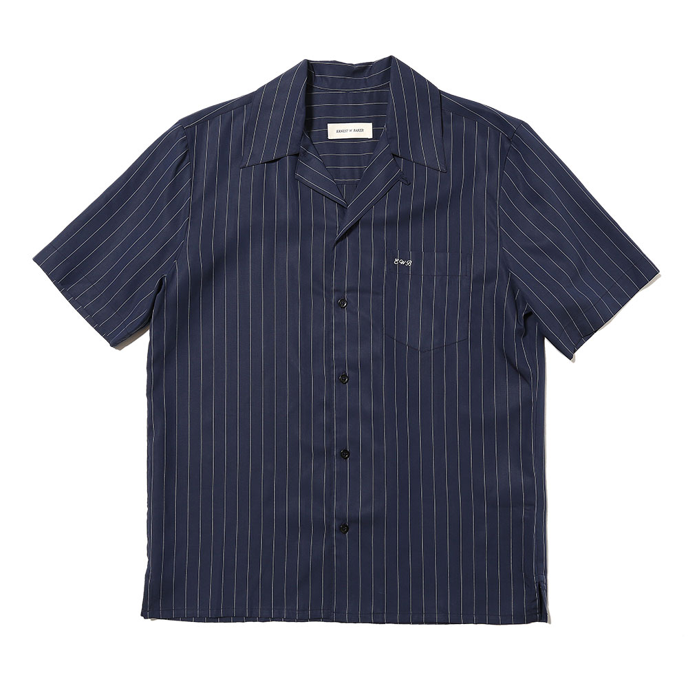 BOWLING SHIRT NAVY BLUE