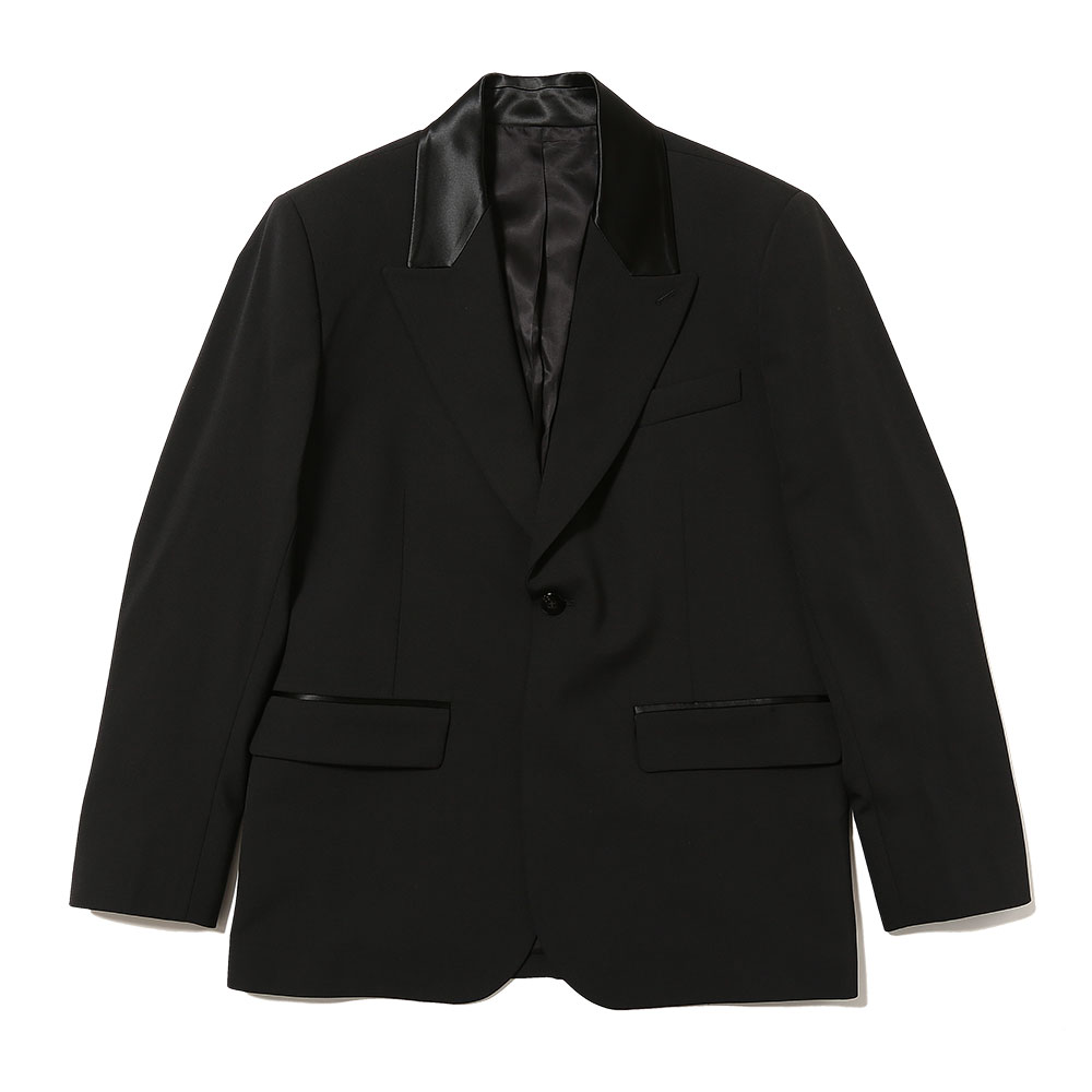 SINGLE BREASTED BLAZER BLACK